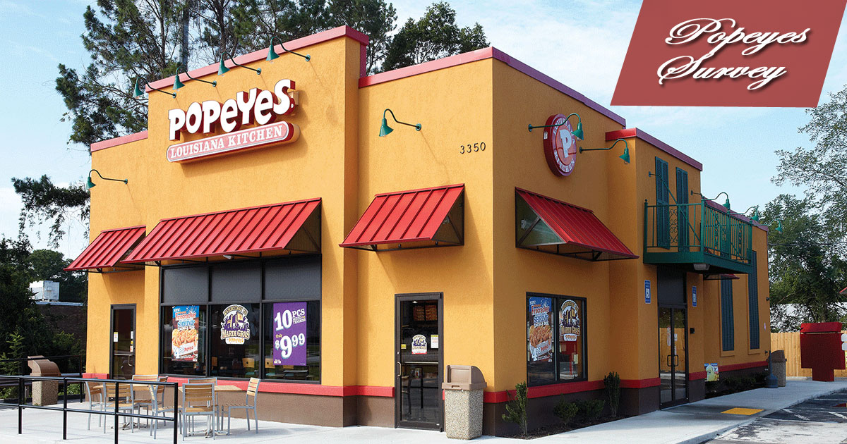 Popeyes Survey Image